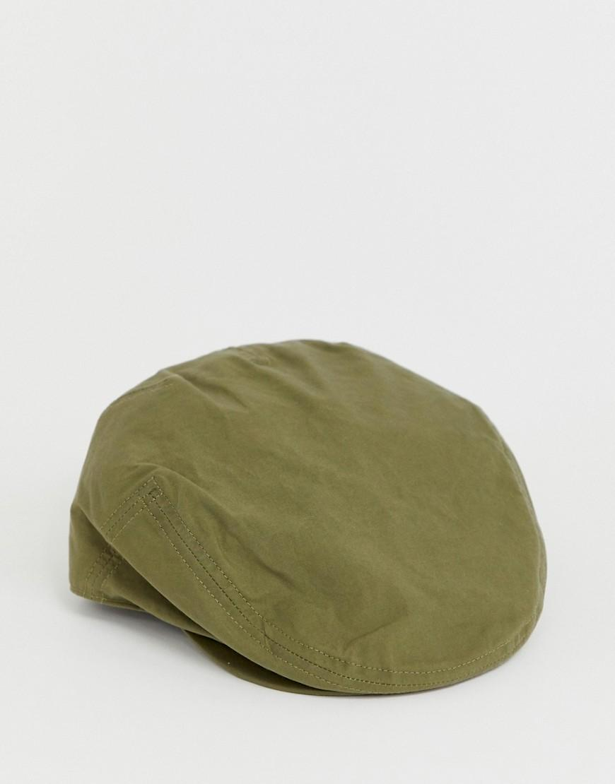 2369a97da57 Barbour Irvine Wax Flat Cap In Green in Green for Men - Lyst