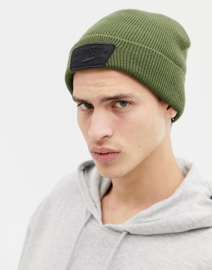 ce1f10787a6 Vans Milford Beanie In Green Vn000uoukcz1 in Green for Men - Lyst
