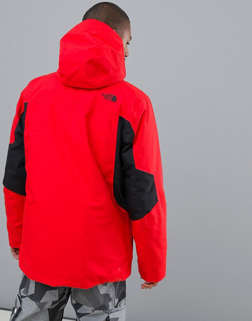 3627f84666 The North Face Clement Triclimate Jacket In Red in Red for Men - Lyst