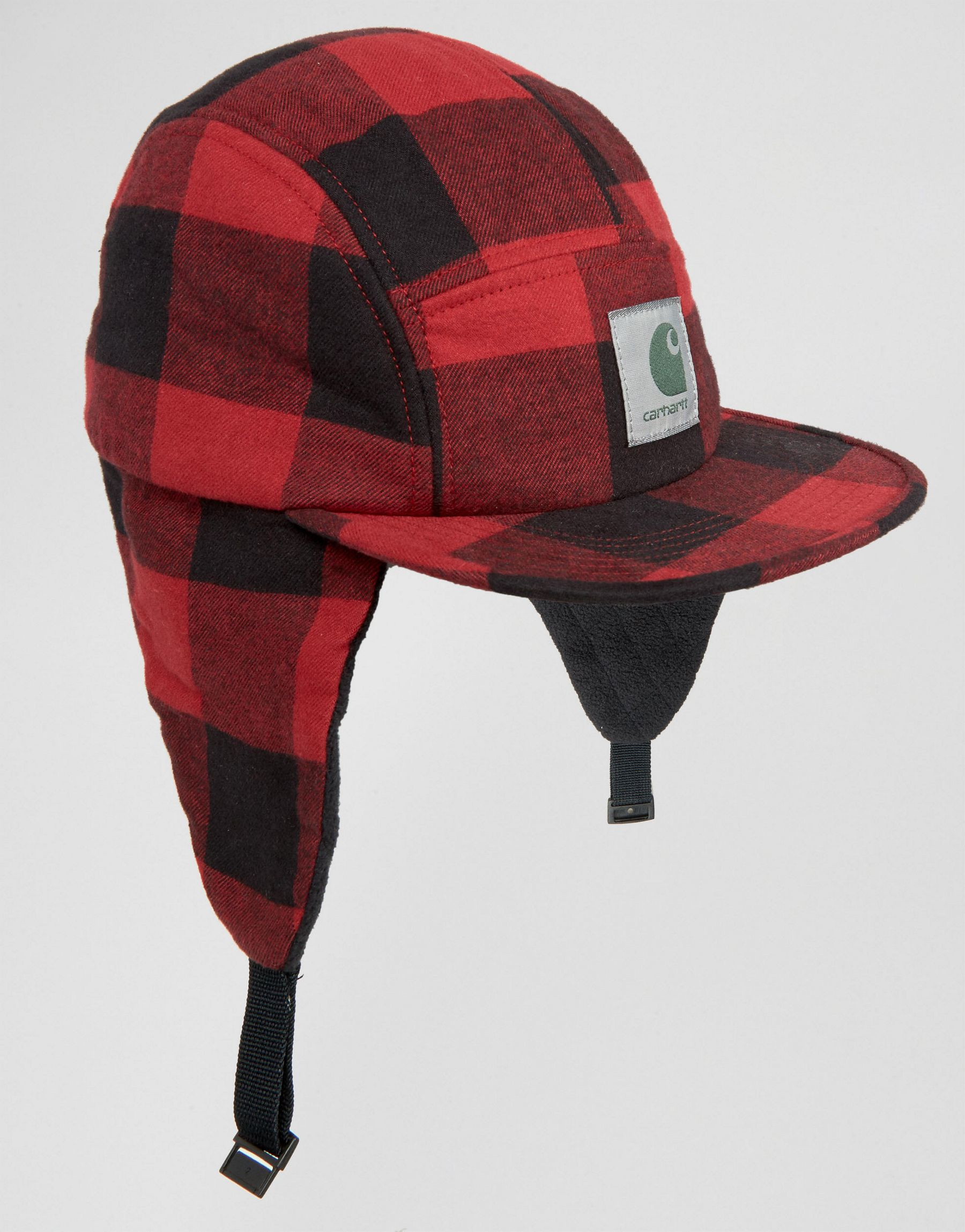 fd441f81de6 Lyst - Carhartt WIP Hat With Ear Flaps in Red for Men