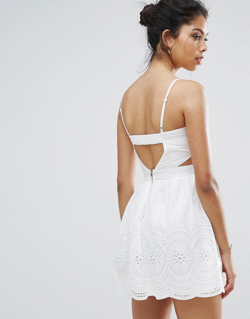 Boohoo Lace Peplum Midi Dress Asos