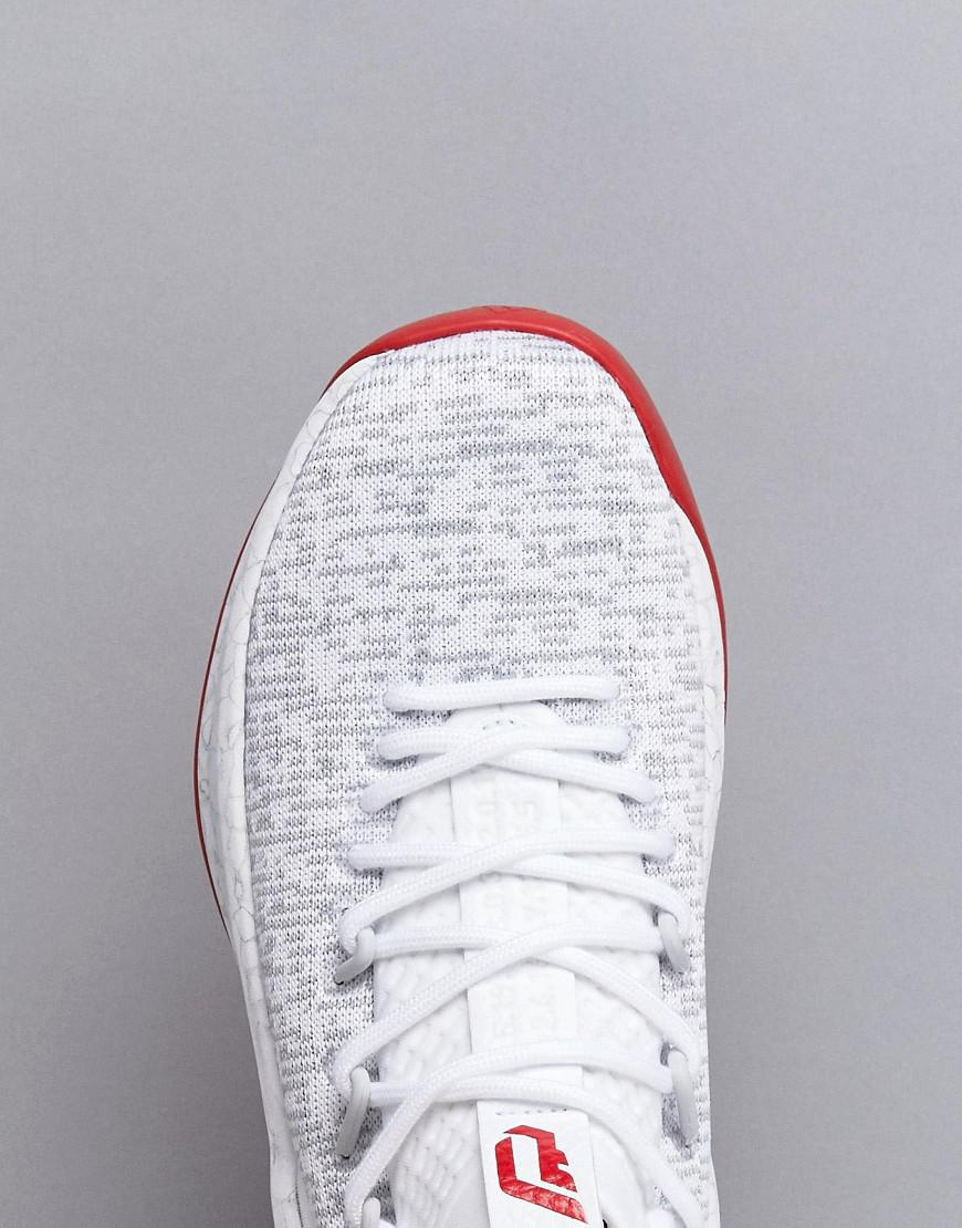 3220a9d22661 Lyst - adidas Basketball X Lliard Crazy Time 2 Trainers In White ...