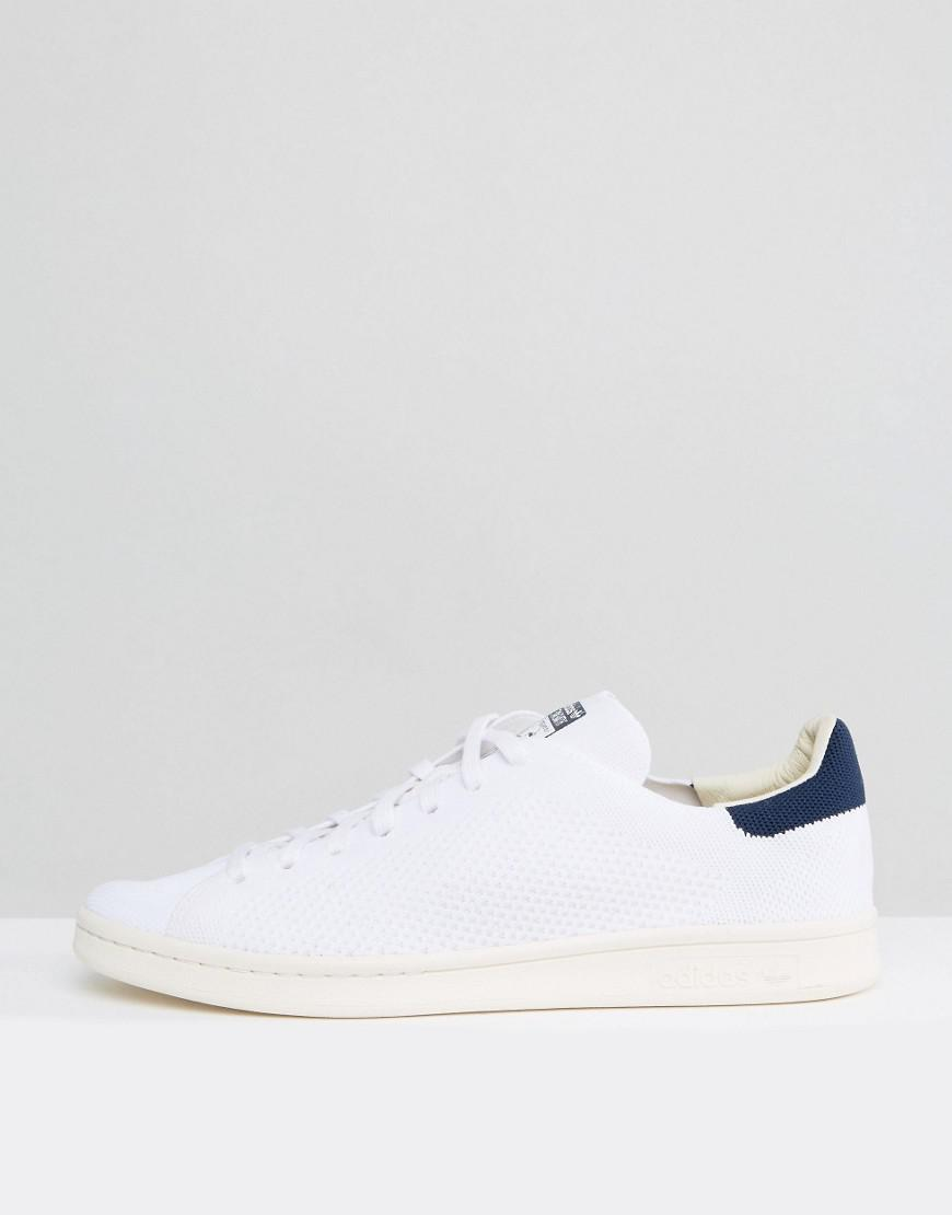 adidas Originals Stan Smith Og Primeknit Sneakers In White S75148 in White  for Men - Lyst dea5005ea3