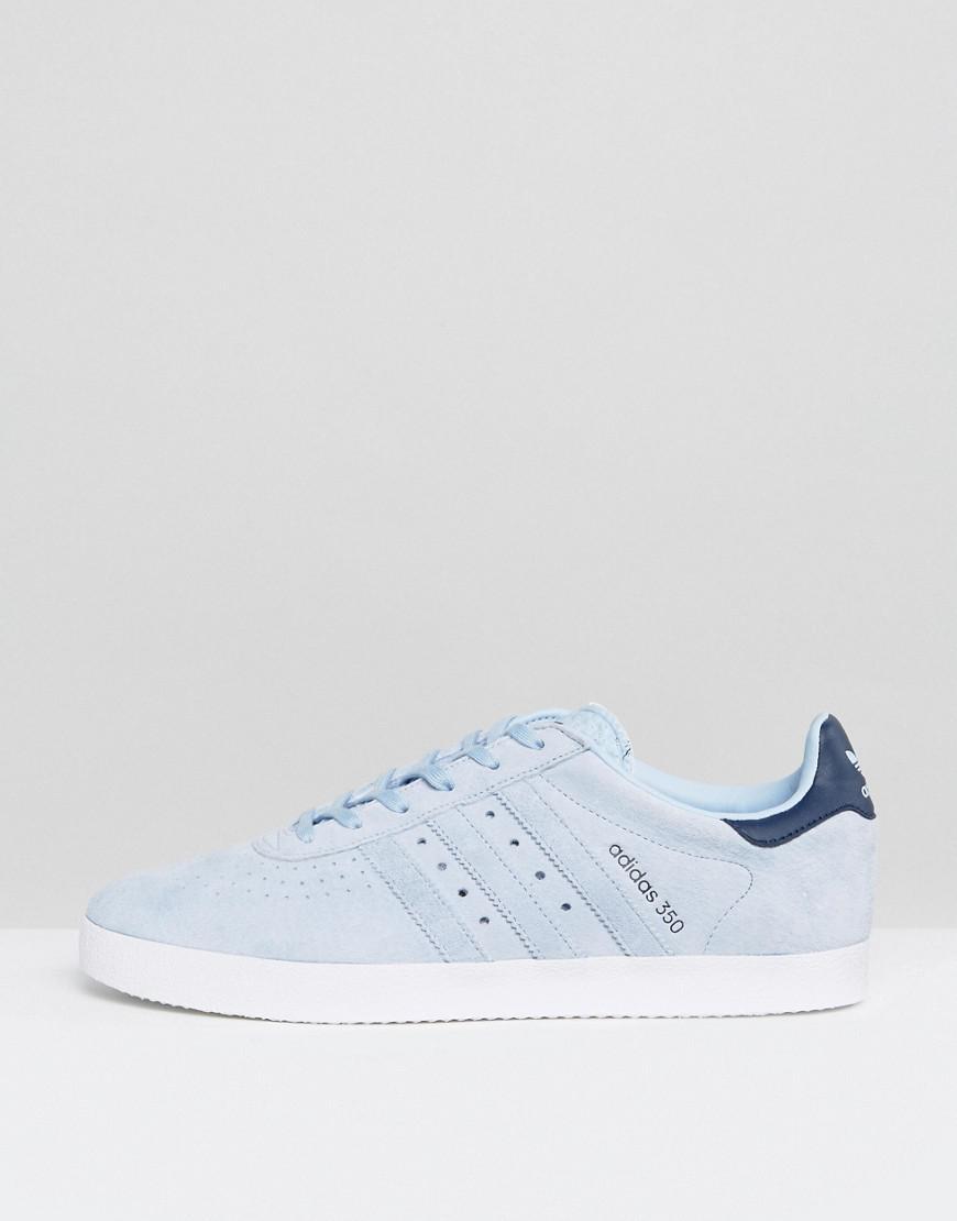 Lyst adidas originali 350 scarpe blu bb2782 in blu per gli uomini.