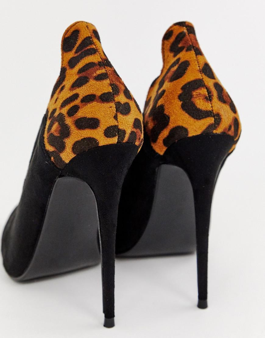Black in Tammy Print Ink Shoes Court Lost Lyst Leopard zxgwq04