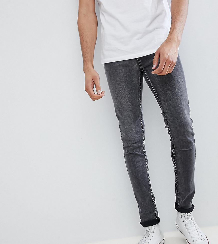 TALL Grey Bleached Skinny Jeans - Grey Liquor & Poker iEZMV7ho