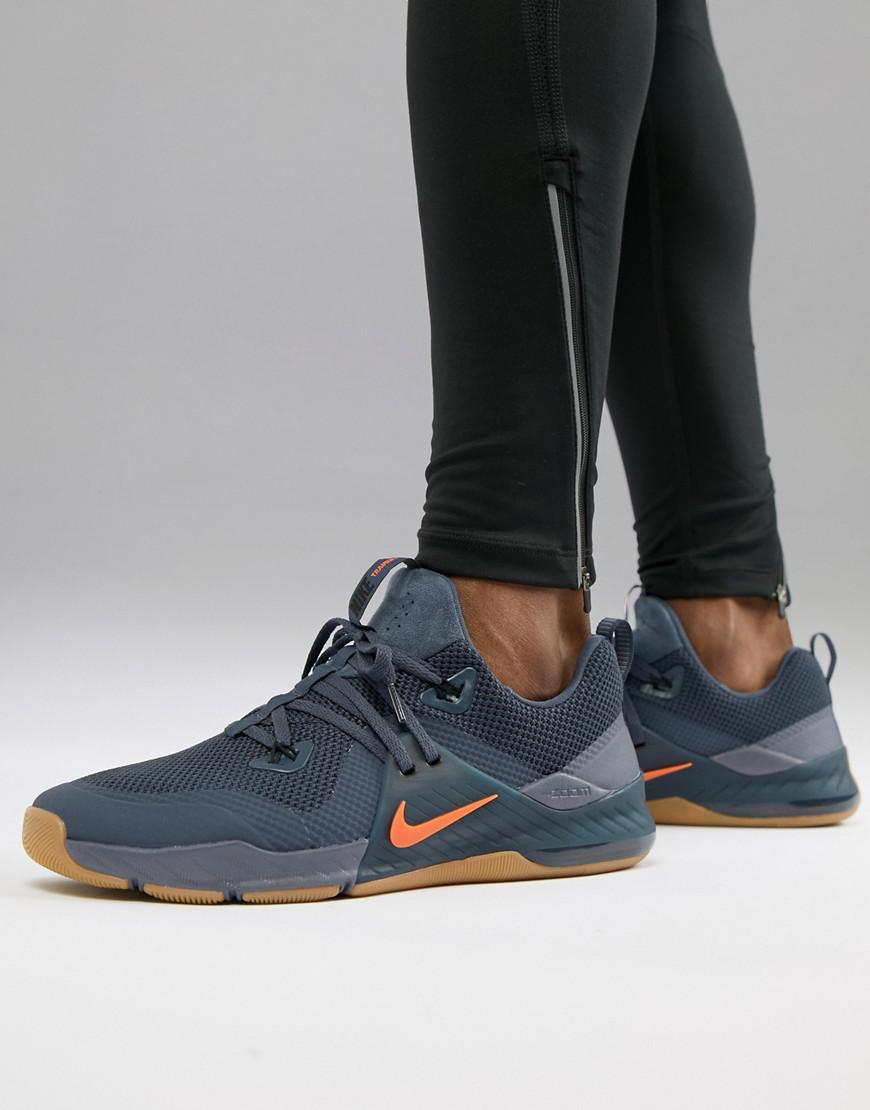 1f5cd426d70b98 Nike Zoom Command Training Shoe In Blue 922478-005 in Black for Men ...