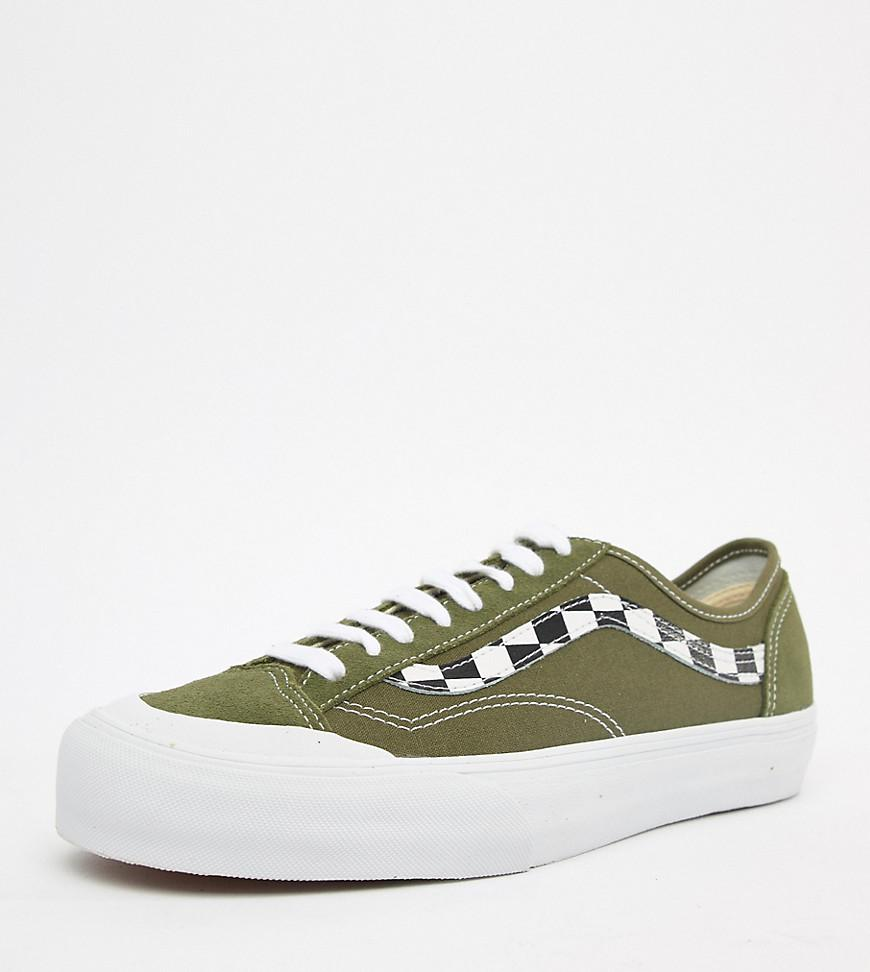 261ae479ef Vans Style 36 Trainers In Khaki Green Exclusive At Asos in Red for ...