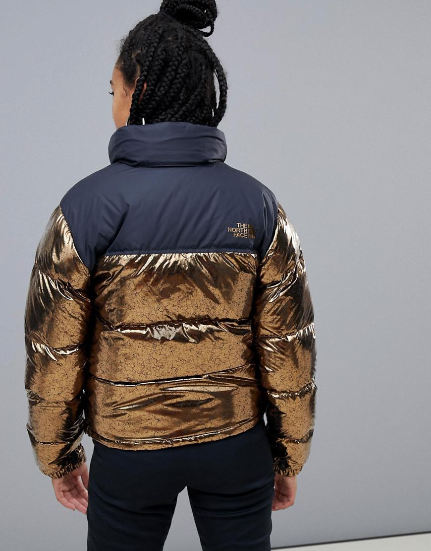 2aad1cf43d Lyst - The North Face Womens 1996 Retro Nuptse Jacket In Copper in ...
