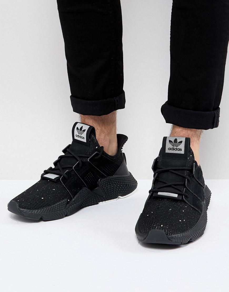 8095272b14c1f8 adidas Originals Prophere Sneakers In Black B22681 in Black for Men ...