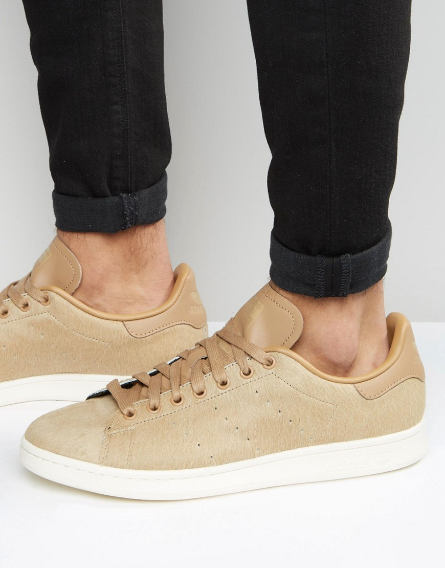 Lyst - adidas Originals Stan Smith Trainers - Beige in Natural for Men fce0c6387