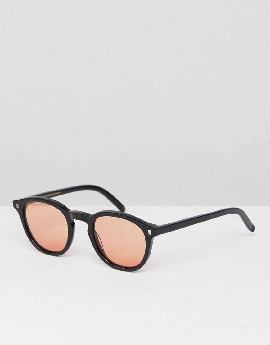 5441d4032fa99 Lyst - Monokel Eyewear Nelson Round Sunglasses In Black in Black for Men