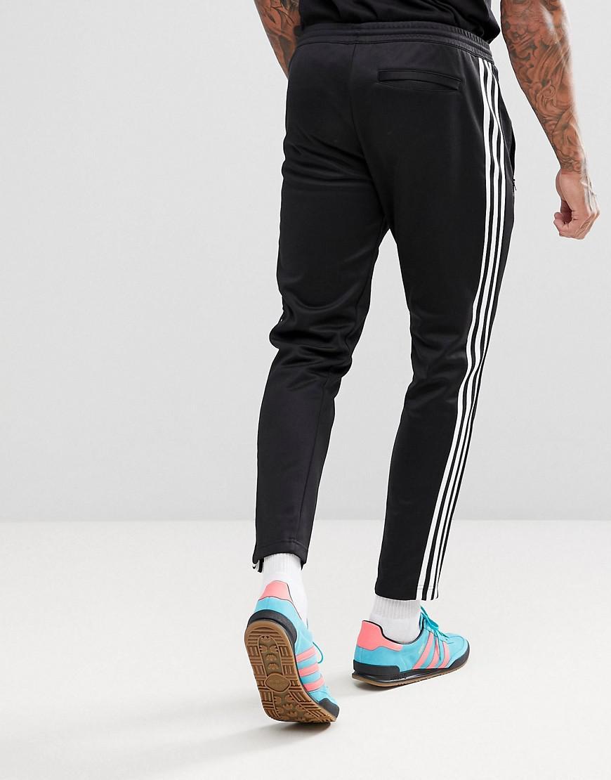 d4688fbd5662 adidas Originals Adicolor Beckenbauer joggers In Skinny Fit In Black Cw1269  in Black for Men - Lyst