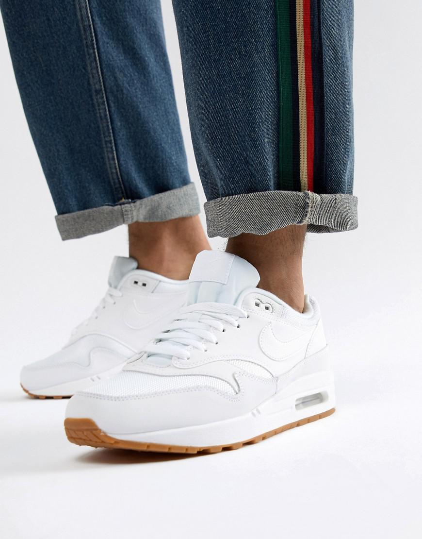 Nike Air Max 1 Trainers In White Ah8145-109 in White for Men - Lyst 925d0868f5