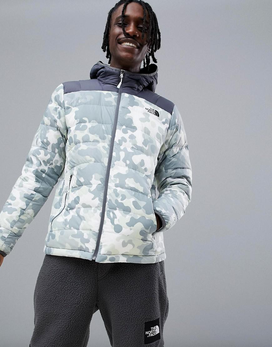 117ff78feb Lyst - The North Face La Paz Hooded Jacket In Macrofleck Print in ...