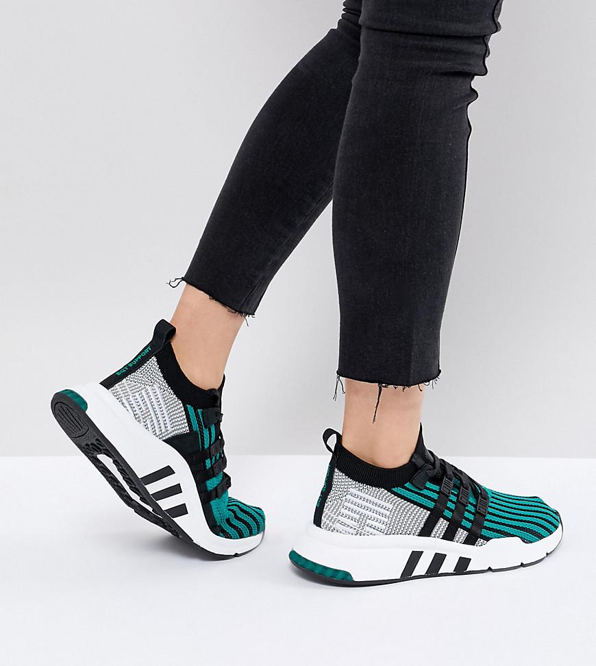 best service 6cca0 a2a5d ... promo code for lyst adidas originals eqt support mid adv primeknit  trainers in 4f511 b9af8