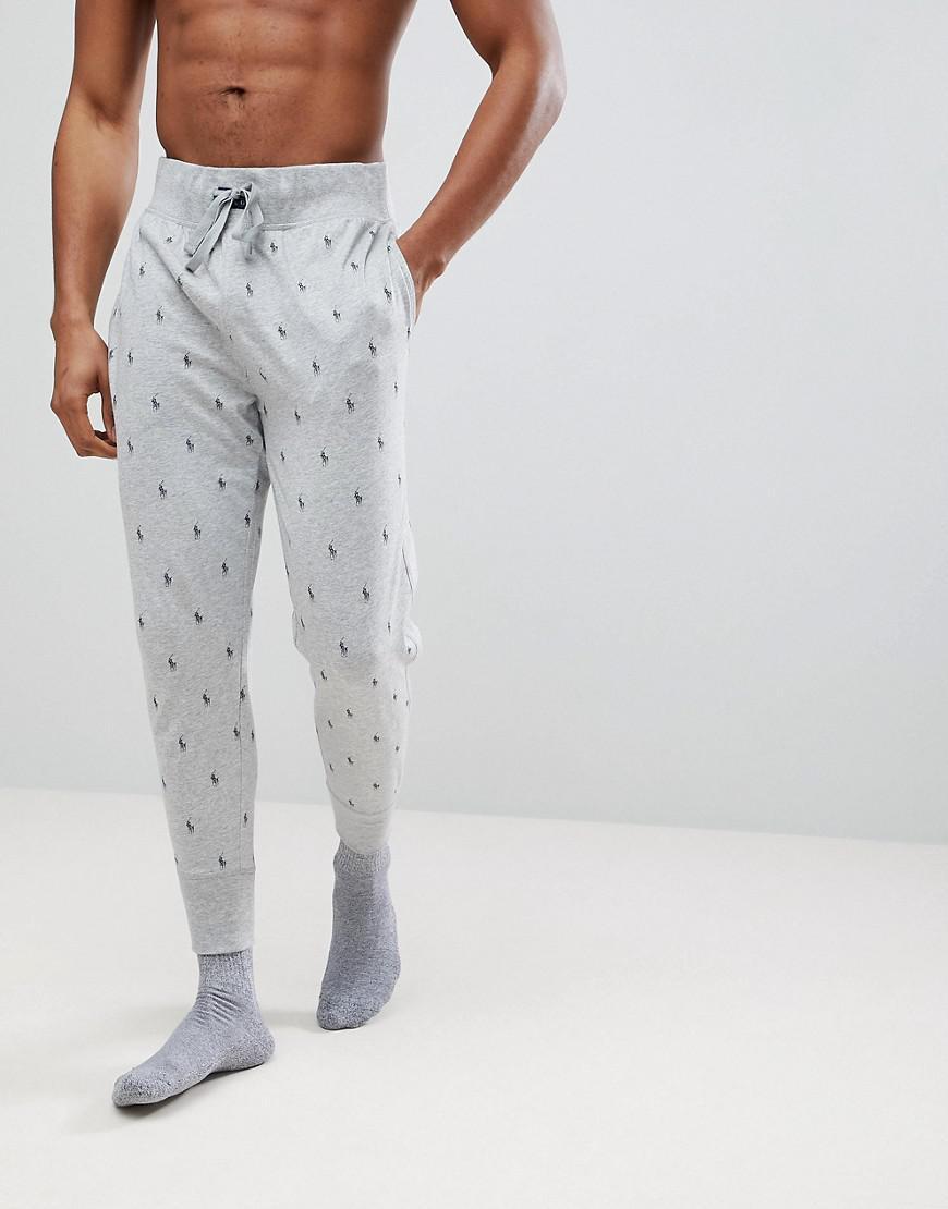 Lyst - Pantalon de jogging léger resserré aux chevilles à imprimé ... 070880efed65