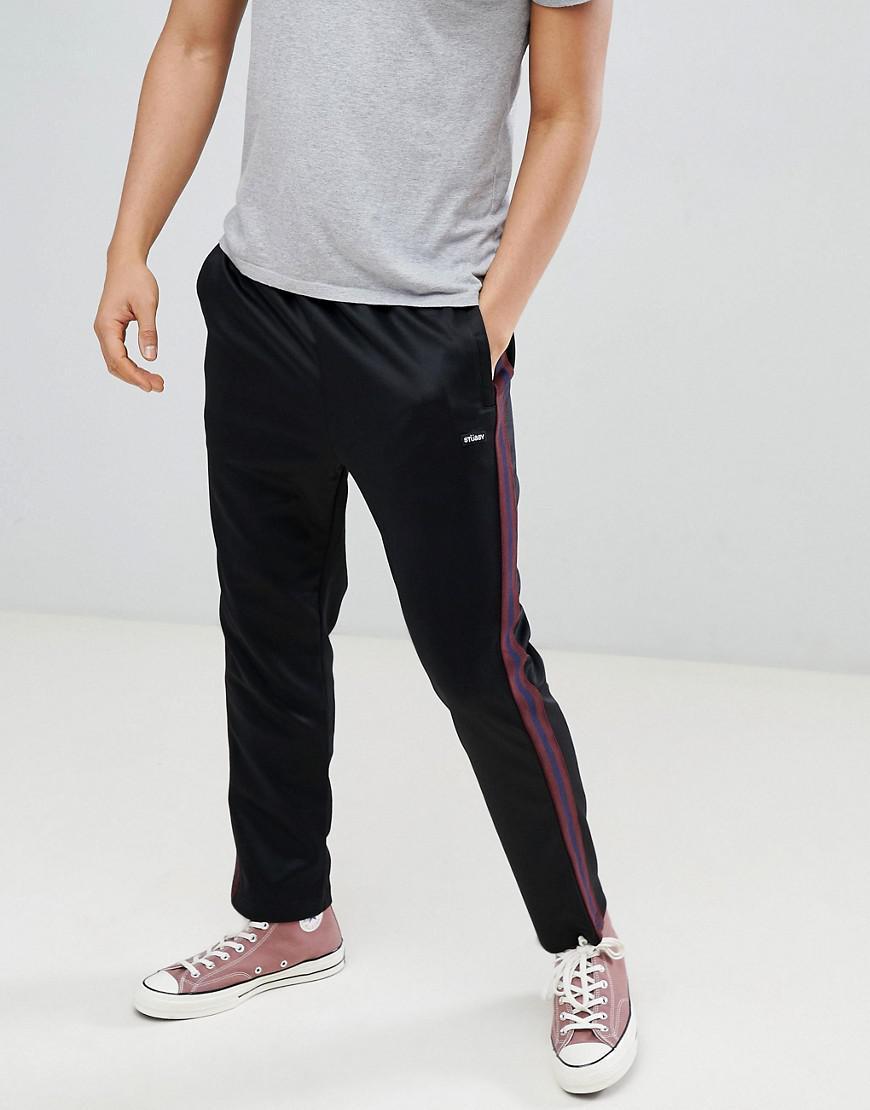 Pantalon Jogging En Maille Polyester Pour Stussy Lyst De Homme uFK3Jc5T1l