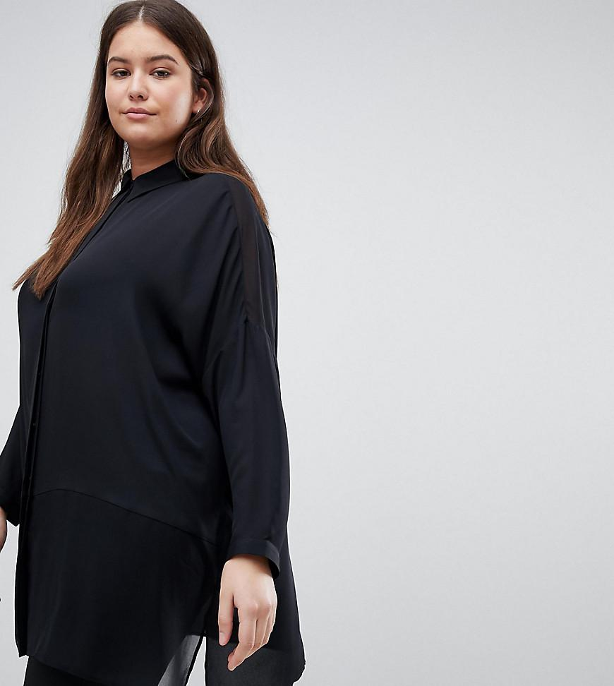 Cheap Get To Buy DESIGN soft shirt - Black Asos Ebay Cheap Sale For Sale Sale Fashionable Outlet Manchester MhGB5rk