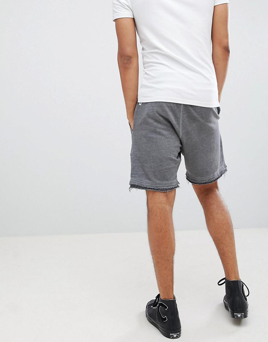 Drawstring Shorts - Beige Systvm lq29x