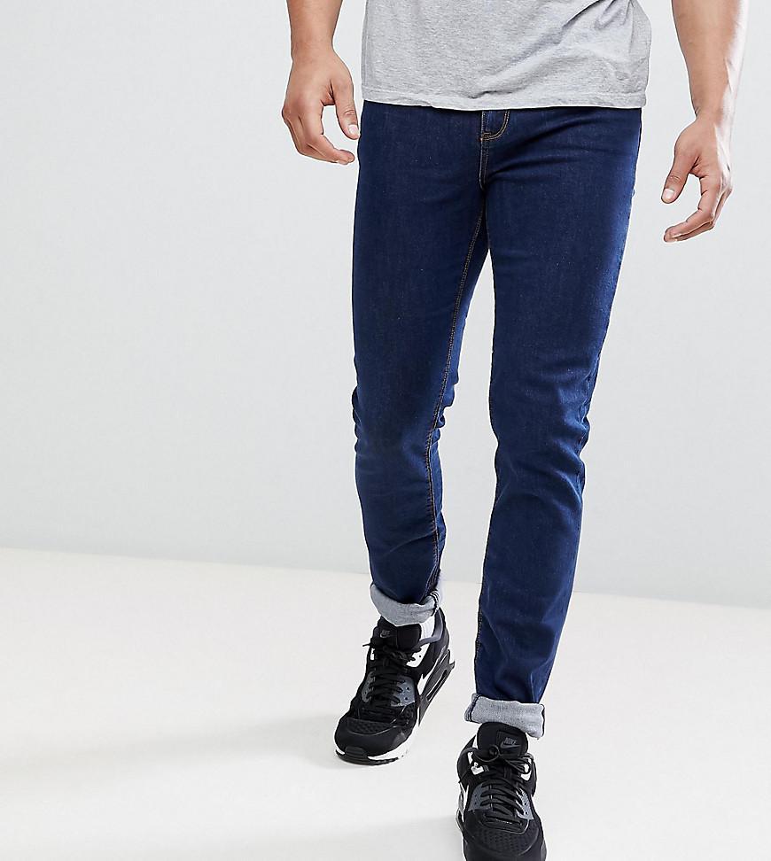 TALL Skinny Jeans In Indigo - Indigo Asos pBPdpAX
