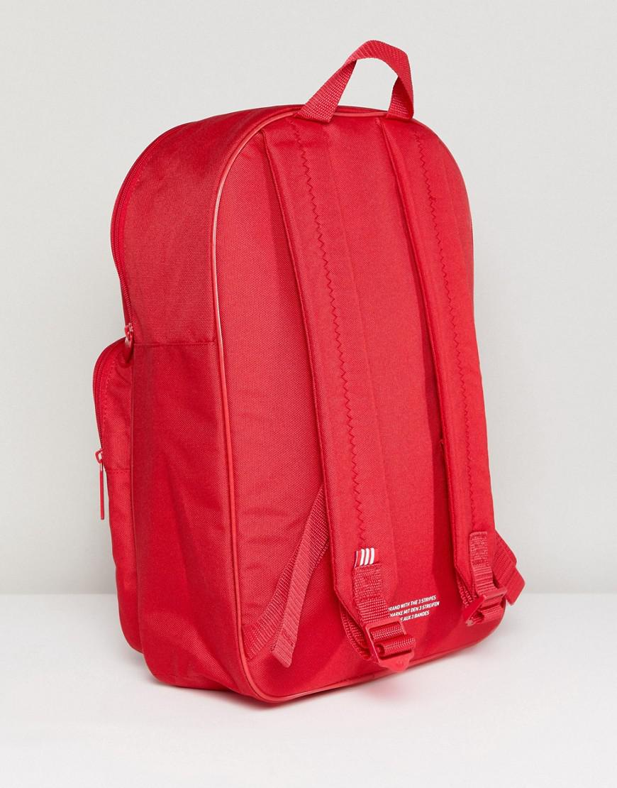 004f5a4ed3 Lyst - Adidas Originals Classic Backpack In Red in Red