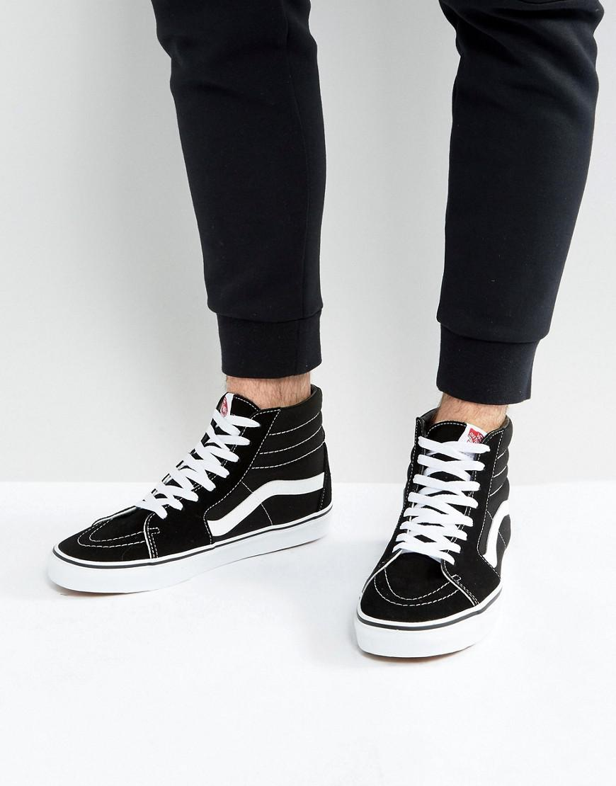 38b75f9168 Vans Sk8-hi Trainers In Black Vd5ib8c in Black for Men - Save ...