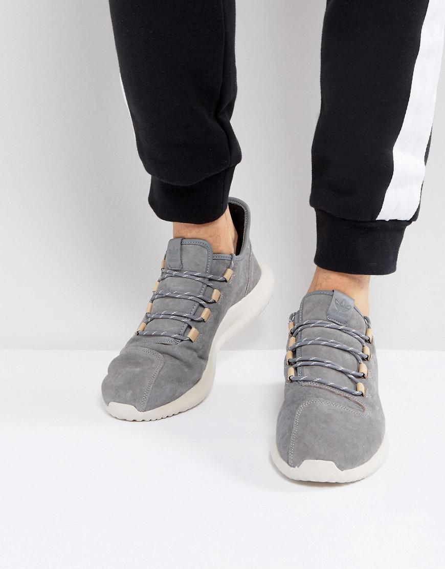 adidas originali tubulare ombra scarpe in grigio by3569 in grigio per