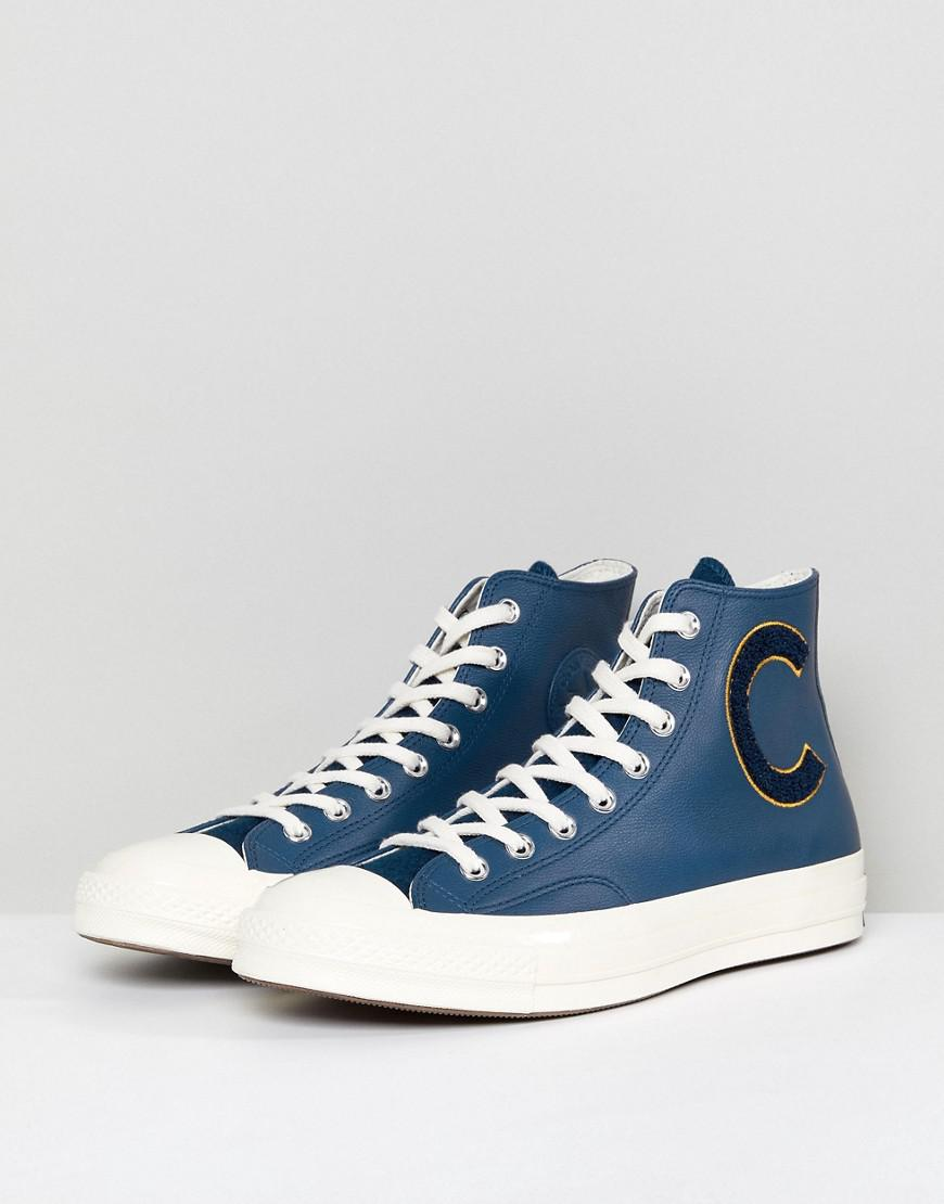 4b40db6df977 Converse Chuck Taylor All Star 70 Hi Plimsolls In Navy 159678c in Blue for  Men - Lyst