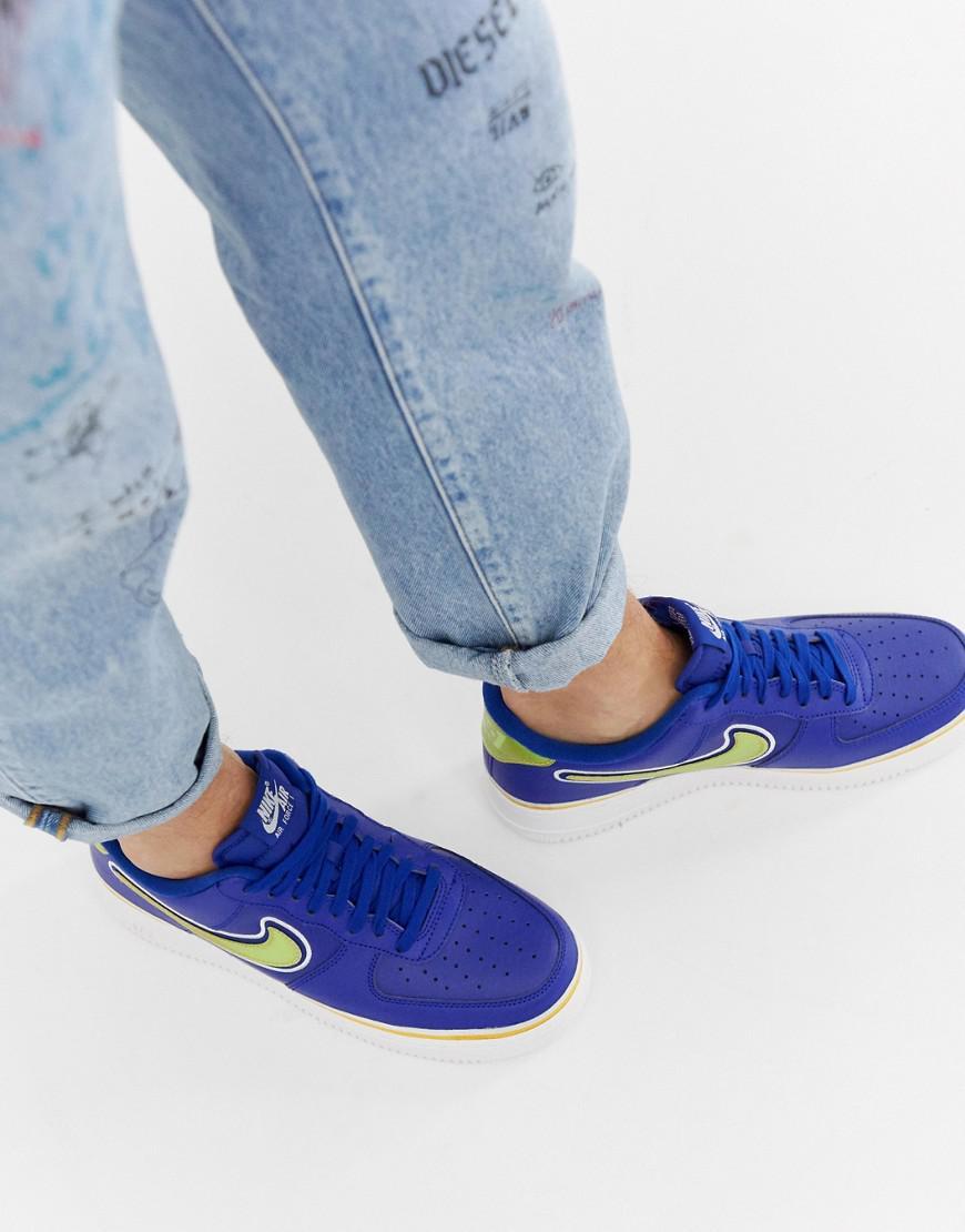 Force Homme Coloris Air 1 Pour En Nike Lyst Bleu '07 m8yOPNnv0w