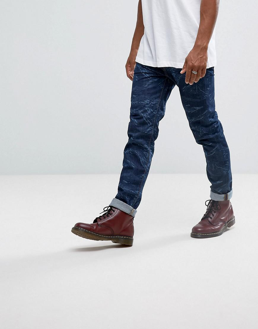 Lyst Dr Martens X Edwin Camo Jeans In Blue For Men