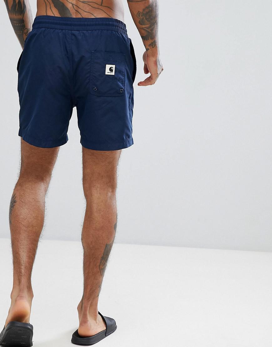 15ce85e5f374b Carhartt WIP Drift Swim Trunks In Navy in Blue for Men - Lyst