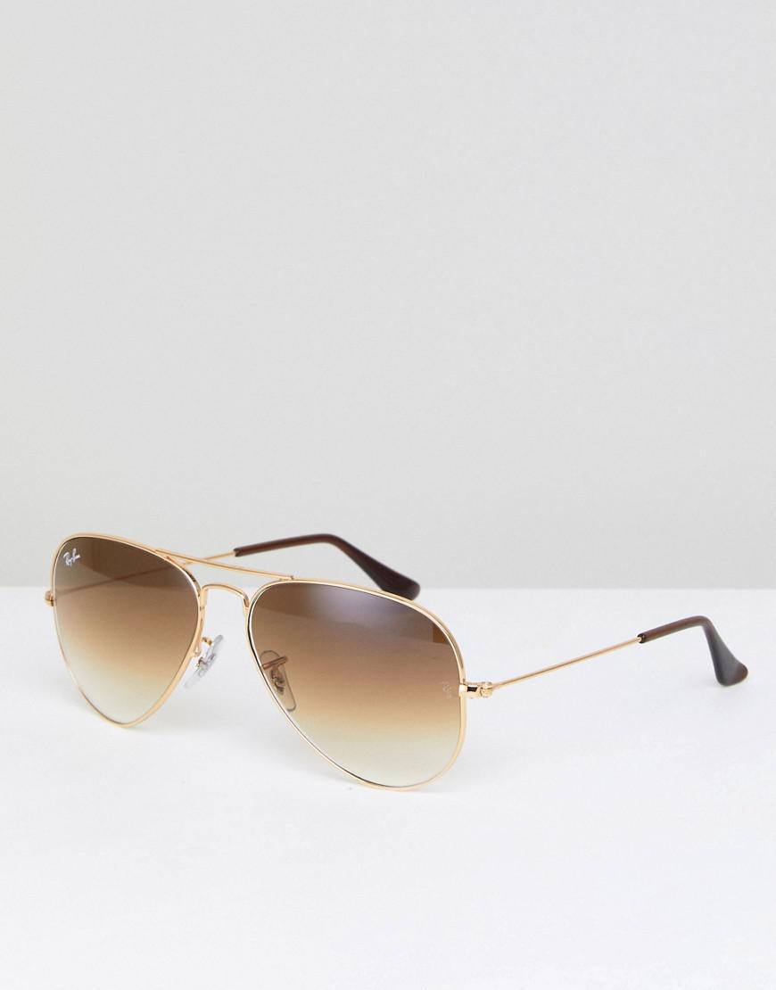 0072e5e897 Ray-Ban Aviator Sunglasses in Metallic for Men - Save ...