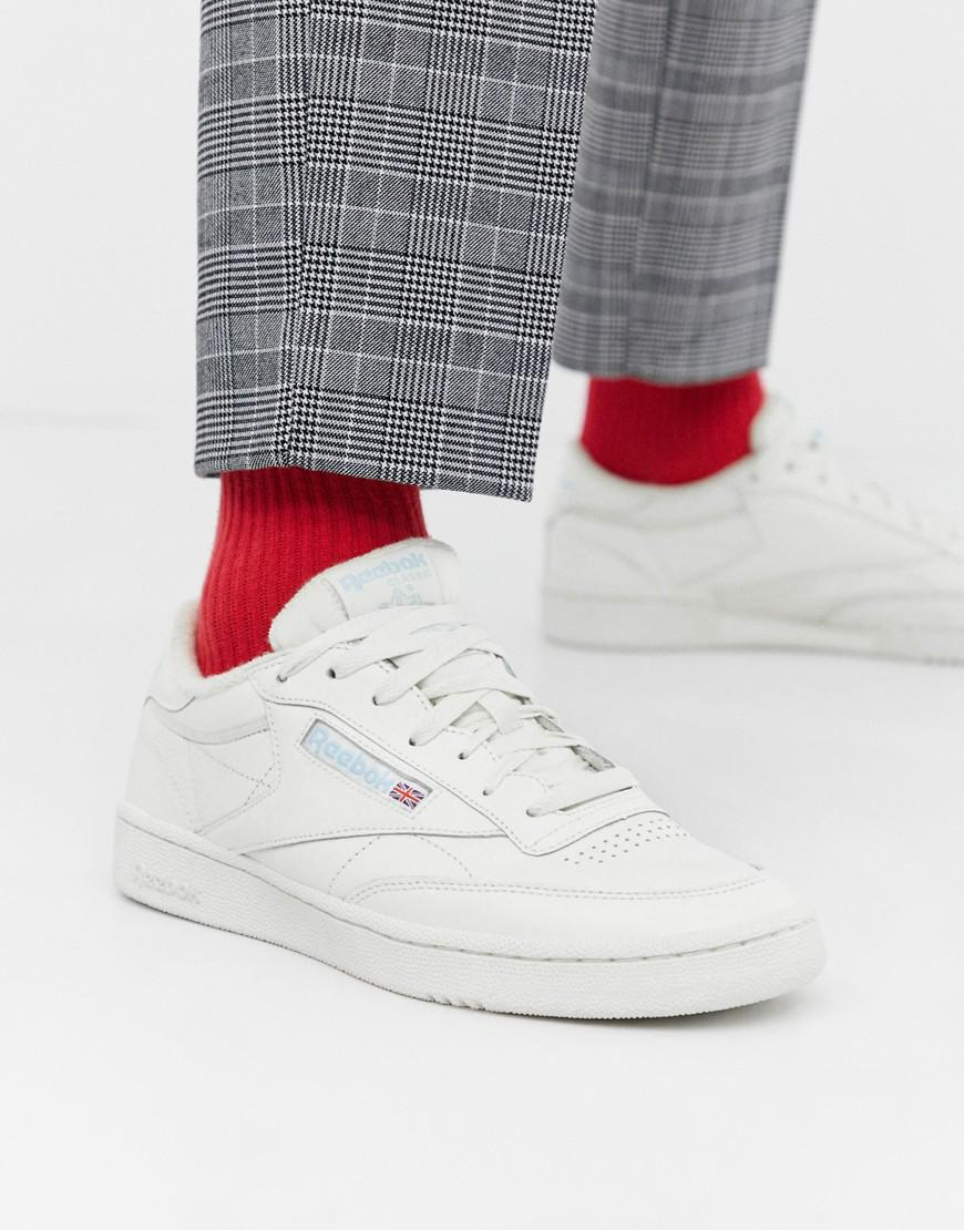 2a04d2422f8a Reebok Club C 85 Mu Sneakers White in White for Men - Lyst
