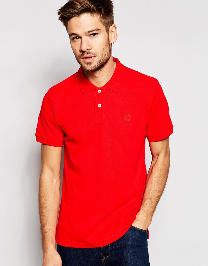 Lyst Esprit Slim Fit Short Sleeve Pique Polo Shirt In
