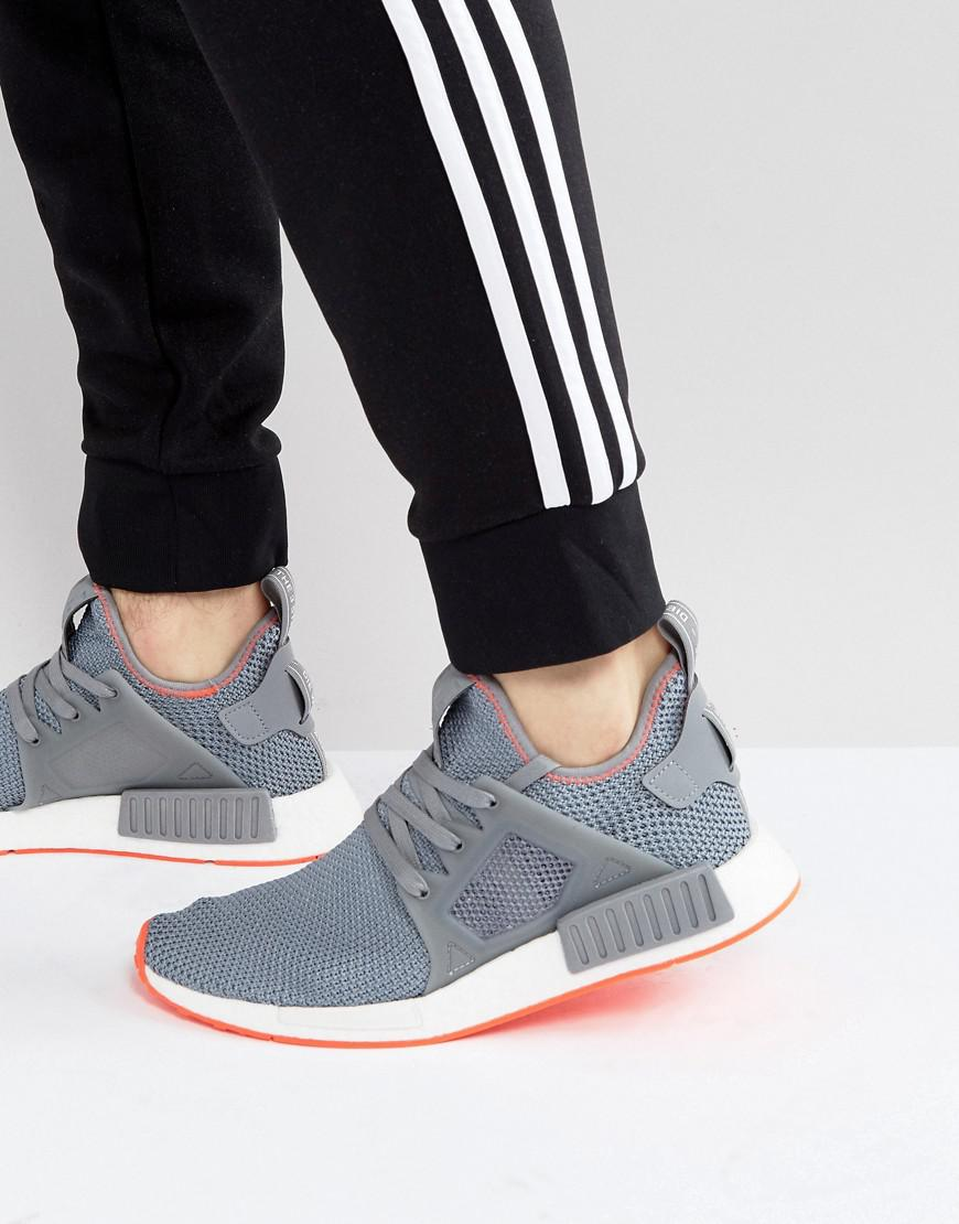 wholesale dealer 0fbad 9c336 Lyst - adidas Originals Nmd Xr1 Trainers In Grey By9925 in G