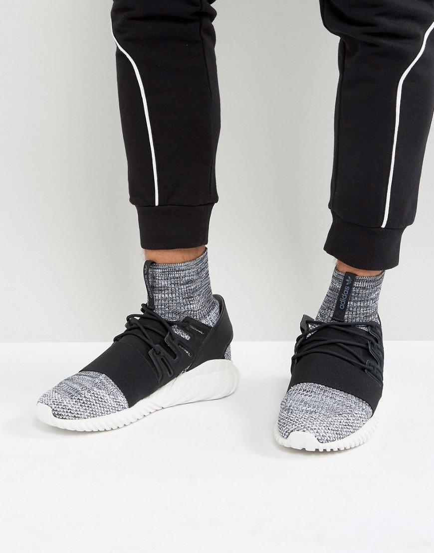 20fb29b2f9d adidas Originals Tubular Doom Primeknit Sneakers In Gray By3550 in ...