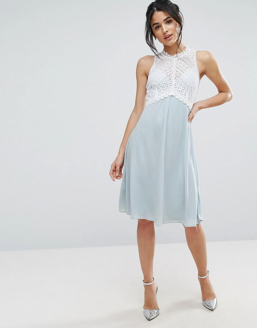 Shipping Outlet Store Online Womens Crepe Pencil with Mesh Dress Elise Ryan Outlet Pre Order Store Sale Online View Sale Online iCbbMhWENg