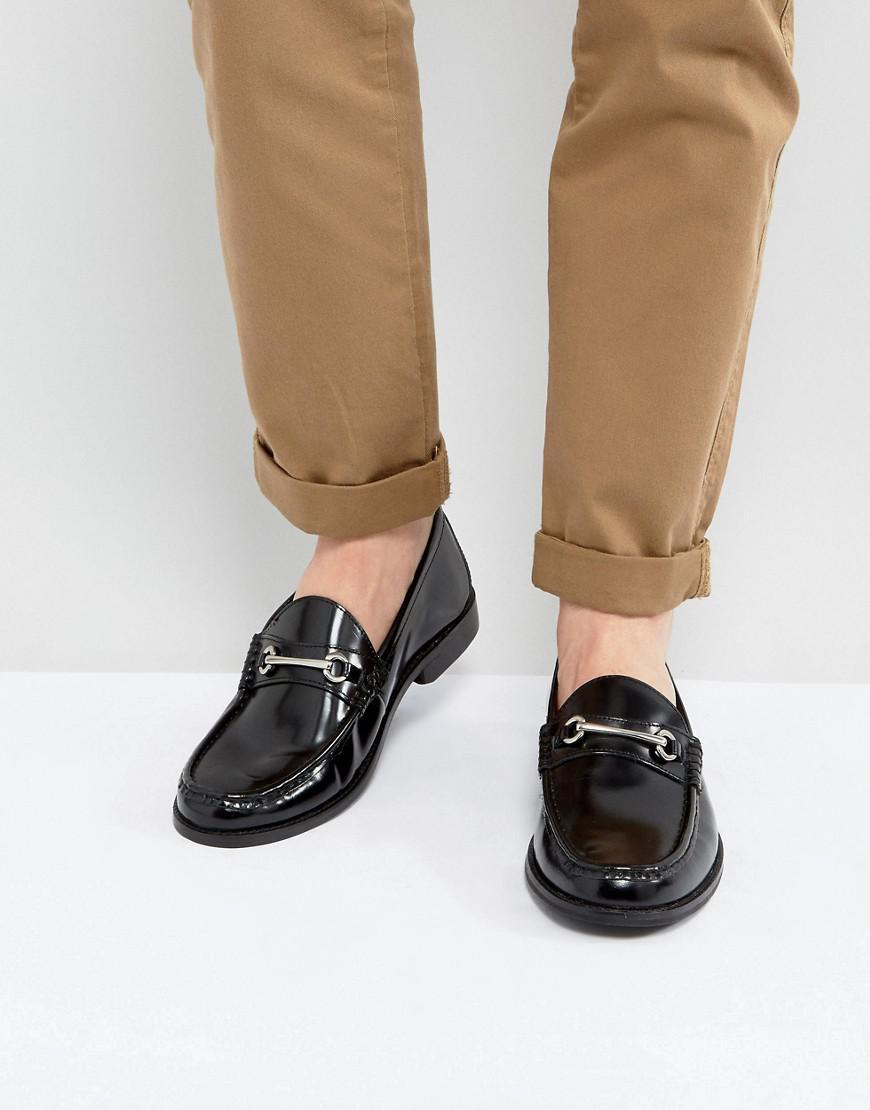 Ben Sherman Luca Loafers In Bordo Leather tyj1K80XS