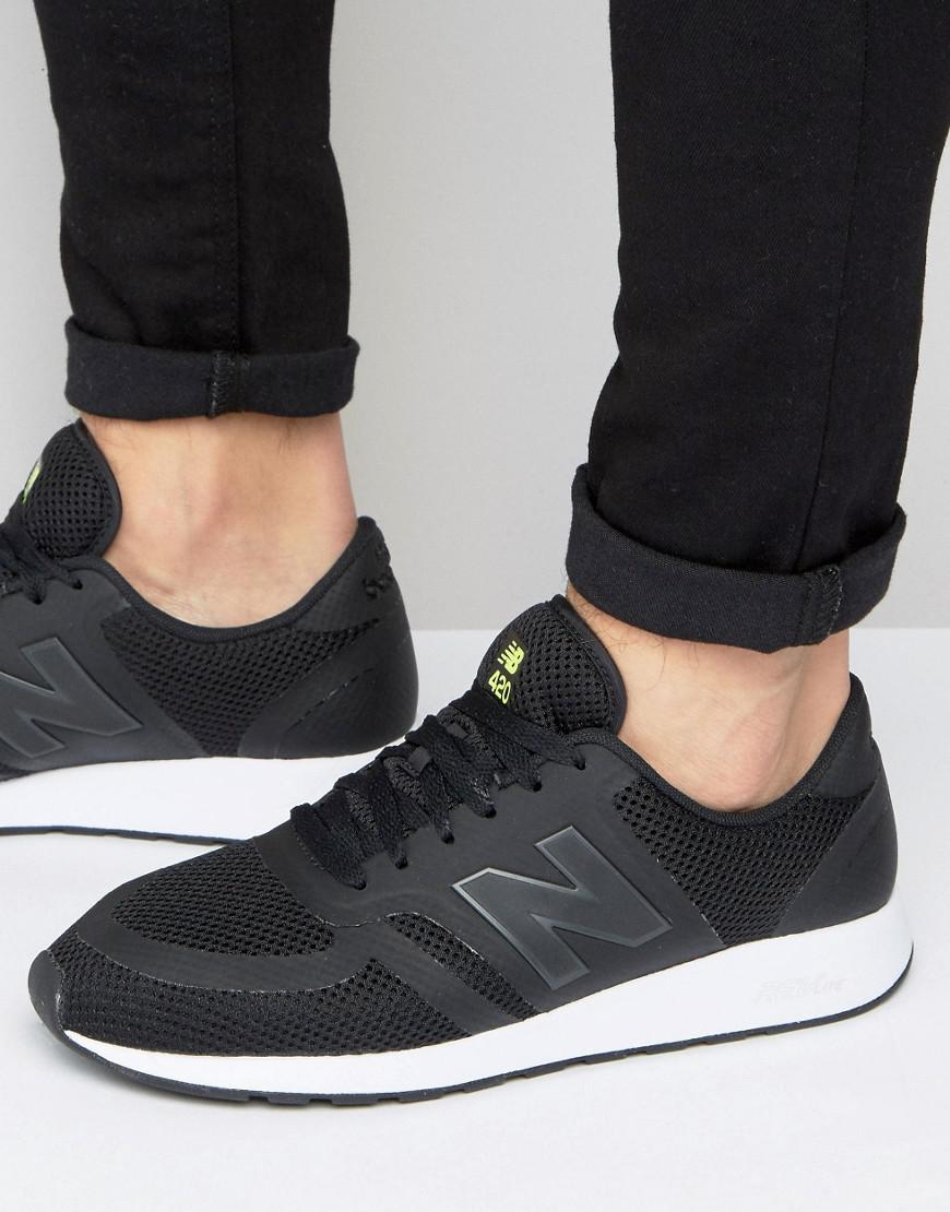 new balance 420 trainers in black