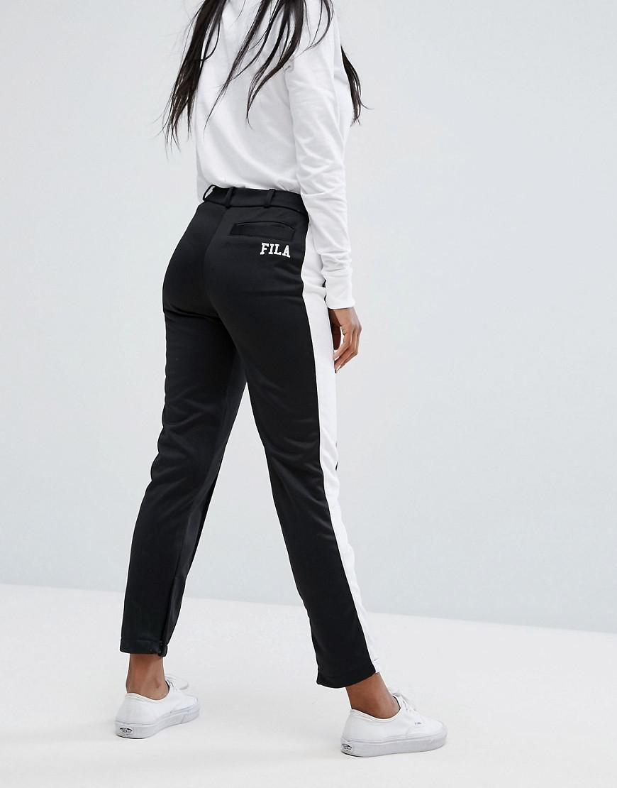 a57cc14e5f29 Lyst - Fila Smart Pannelled Tracksuit Bottoms With Side Contrasts Co ...