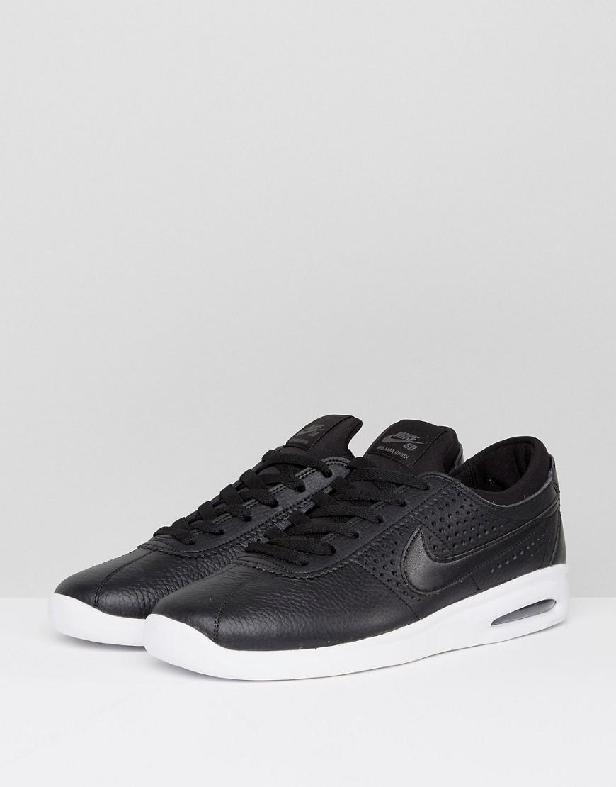 5d1b43a5dd9b Nike Bruin Max Vapor Leather Trainers In Black 923111-001 in Black for Men  - Lyst