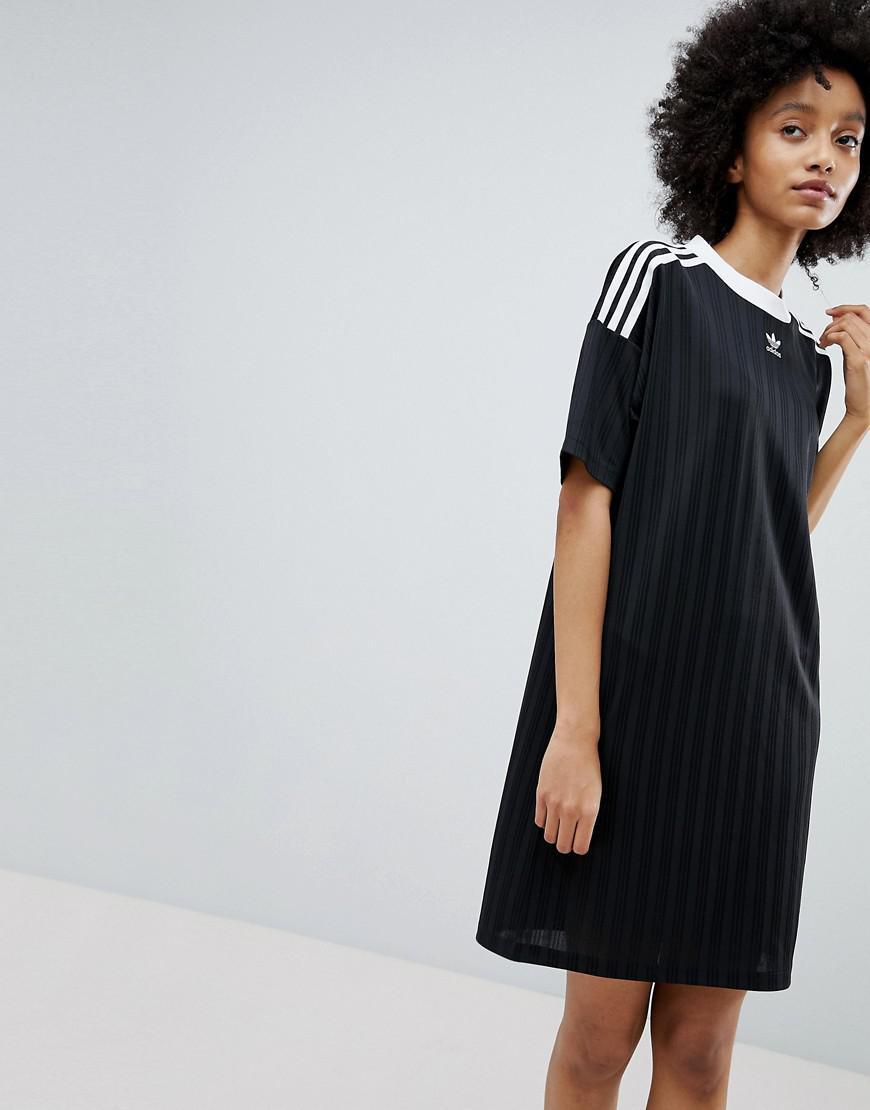 Lyst adidas Originals Originals Adicolor tres Stripe vestido en