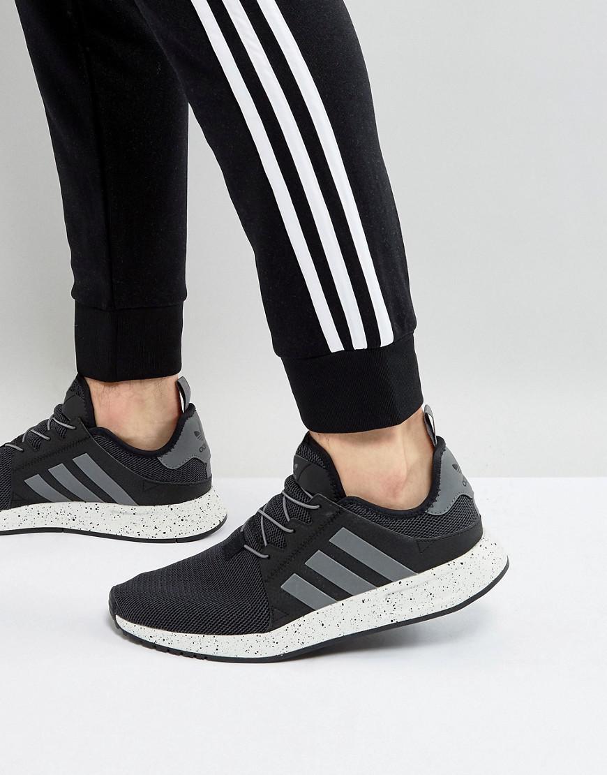 adidas Originals X plr Trainers In Black By9254 in Black for Men - Lyst fbc61fe05