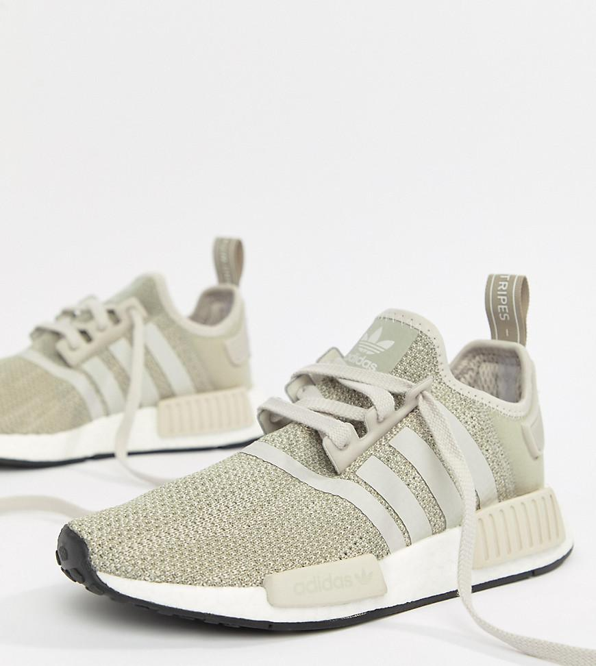 timeless design ef953 1e730 adidas Originals Nmd R1 Sneakers In Gray in Gray - Lyst