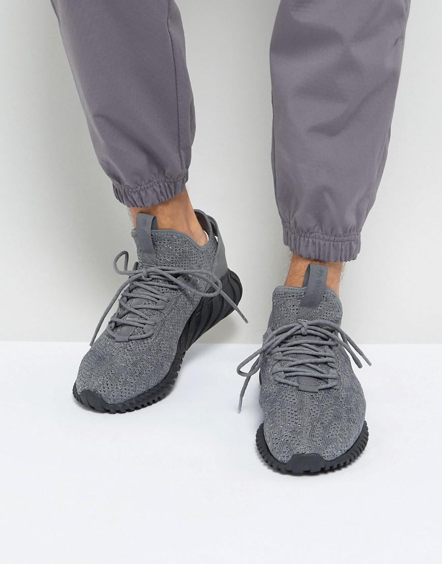 check out 13feb d0db2 adidas Originals. Men s Gray Tubular Doom Sock Primeknit ...