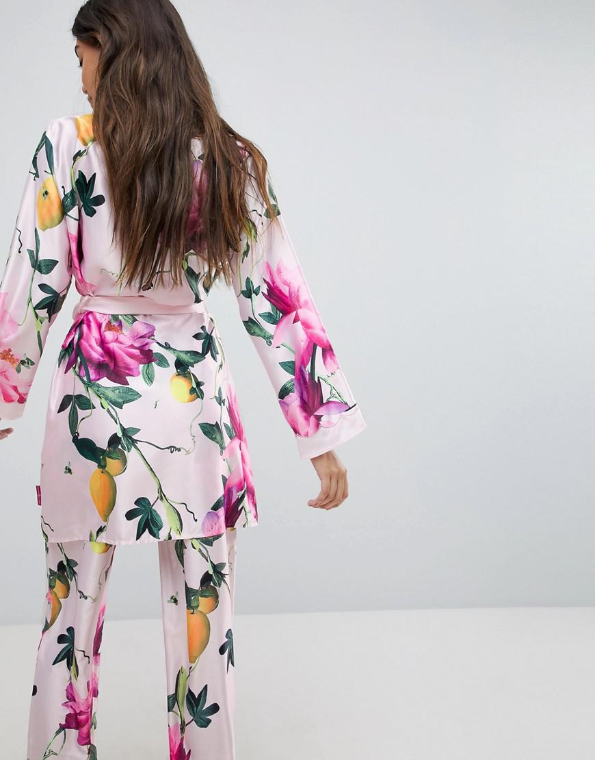 b71c8e6d11eb15 Ted Baker B By Citrus Bloom Kimono in Pink - Lyst