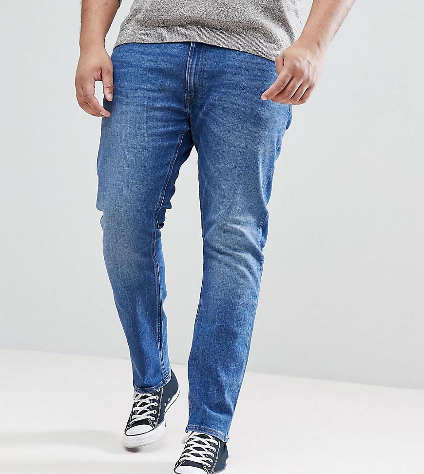 PLUS Luke Skinny Jeans in Midwash - Midwash Lee YBmdV