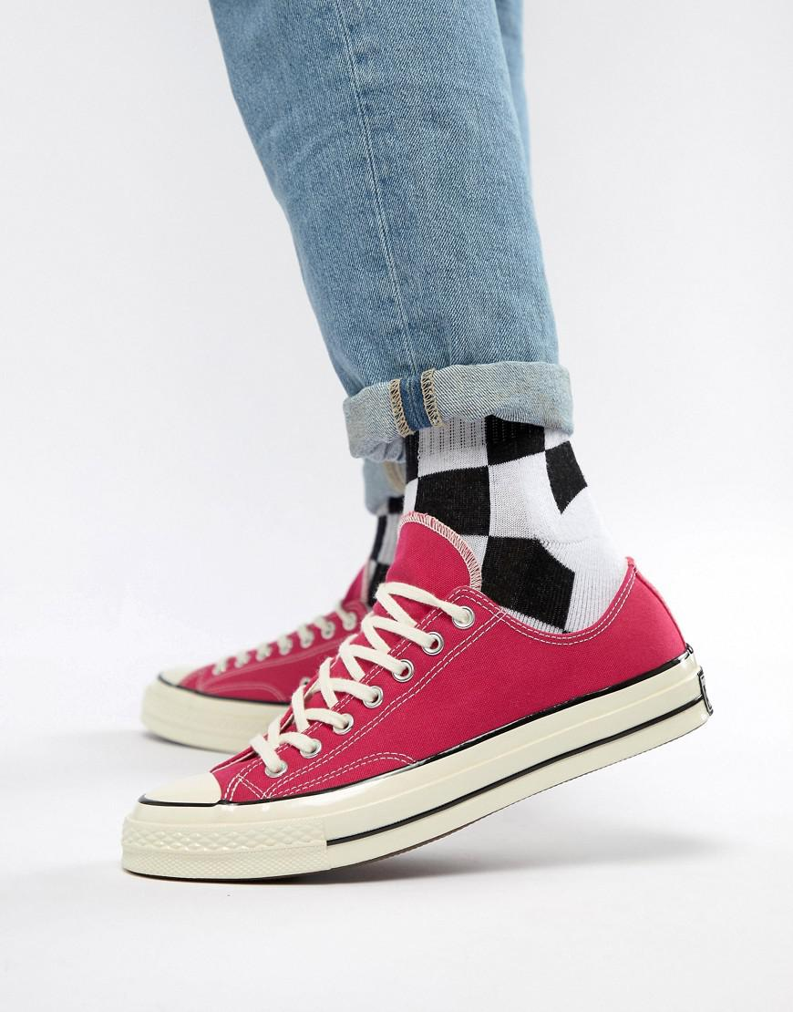 8a71b2ff323e Converse Chuck Taylor All Star  70 Ox Sneakers In Pink 161445c in ...