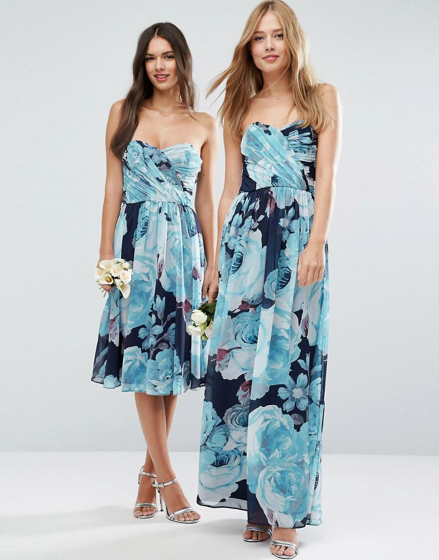 Beautiful Print Maxi Dress For Wedding Images - All Wedding Dresses ...